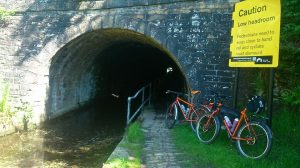 Scout Tunnel Huddersfield Narrow Canal Surly Troll
